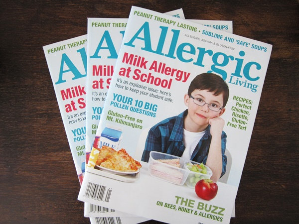 Milk Allergy at School - Allergic Living