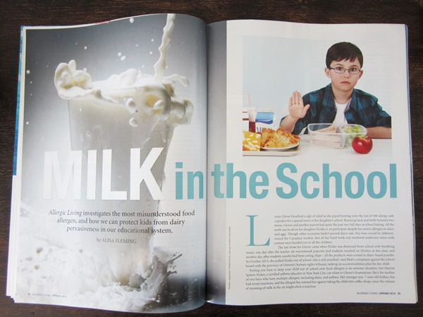 Milk Allergy at School