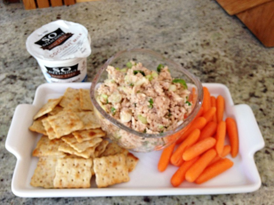 No-Guilt Salmon Dip