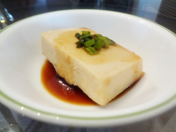 Peanut Tofu with Teriyaki Sauce