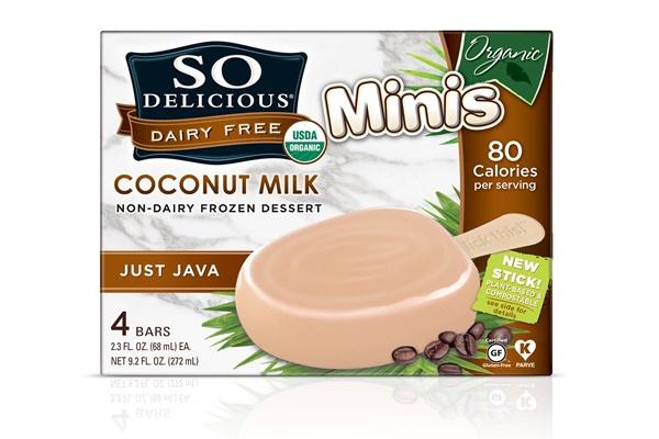 So Delicious Dairy Free Coconut Milk Ice Cream Bars - Just Java Feature