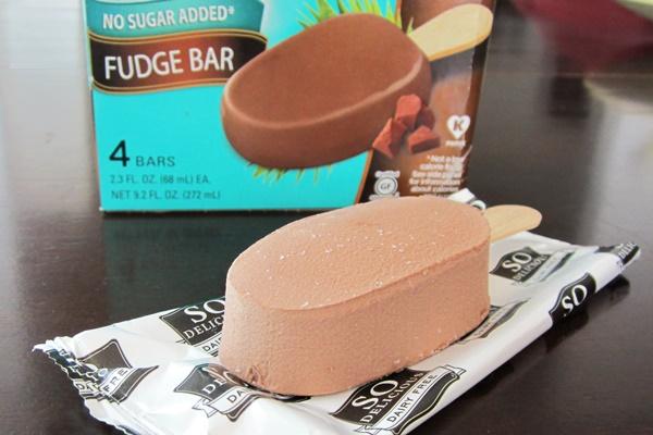 So Delicious Dairy Free No Sugar Added Fudge Bars (made with Organic Coconut Milk)