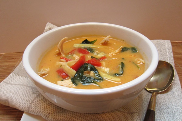 Special Diet Notes & Options: Thai Chicken Noodle Soup