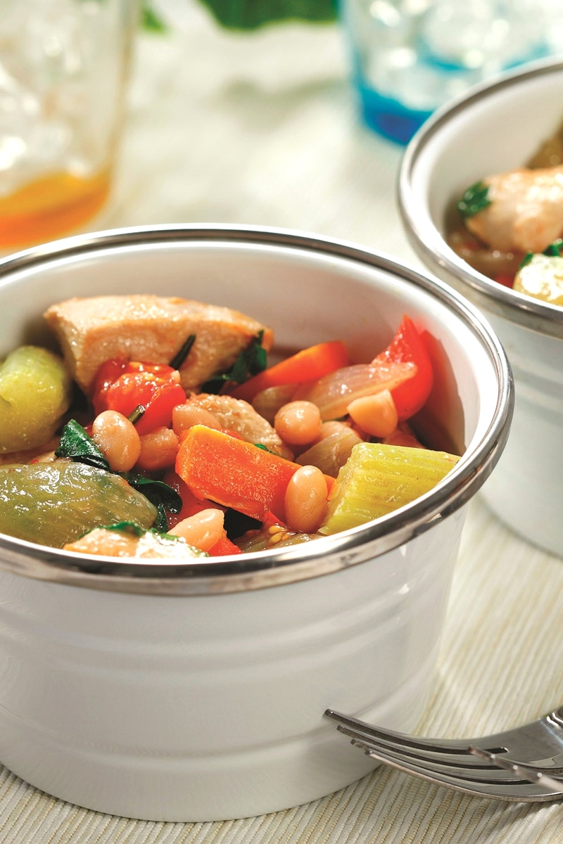 Rosemary Chicken Stew with Vegetables Recipe