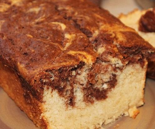Chocolate Marble Vegan Pound Cake