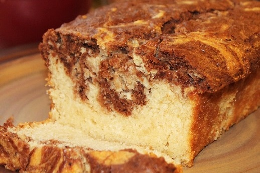 Chocolate Marble Vegan Pound Cake Recipe - Go Dairy Free