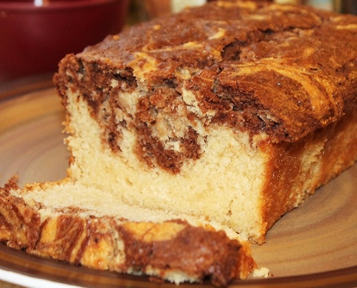 Sweet and Savory Dairy-Free Recipe Contest Winner: Chocolate Marble Pound Cake