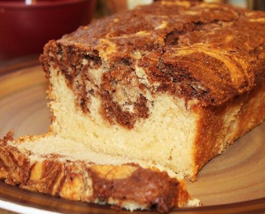 Sweet and Savory Dairy-Free Recipe Contest Winner: Chocolate Marble Pound Cake