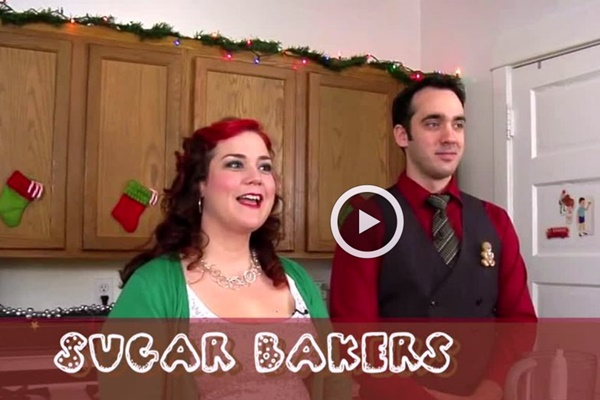 The Sugar Bakers: Vegan Chocolate Peppermint Pie