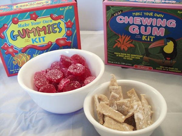 Glee Gum Candy Kits: Make Your Own Chewing Gum and Vegan Gummies
