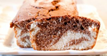 Vegan Marble Pound Cake Recipe - A prize winner!