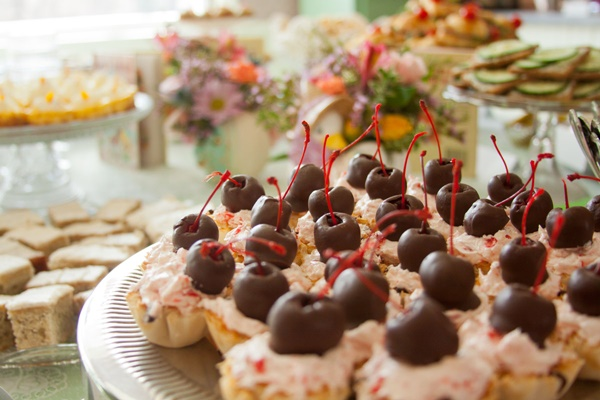 This recipe for chocolate cherry cordial tarts is an entry in our ...