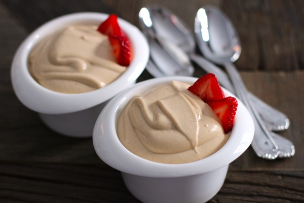 Healthy Dairy-Free Peanut Butter Mousse