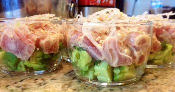 Tuna Poke Parfaits
