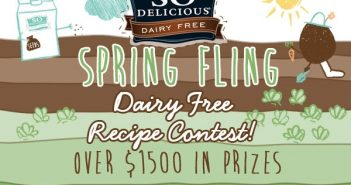 Spring Fling Dairy-Free Recipe Contest - $1000 Grand Prize; Two $250 Runner-Up Prizes