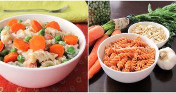 Vegan Pasta Primavera feature