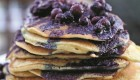 Zesty Gluten-Free Orange Pancakes with Wild Blueberry-Orange Sauce