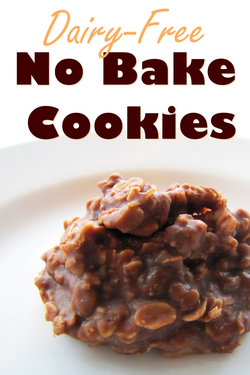 Chocolate No Bake Cookies Recipe (Naturally Vegan & Dairy Free! Optionally Gluten Free & Nut-Free)