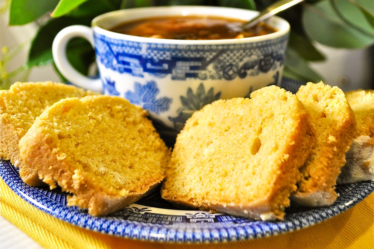 Sweet Vegan Cornbread Recipe - easy, dairy-free, egg-free, nut-free, and soy-free