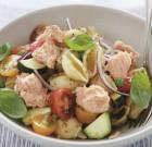 Salmon Pesto Pasta Salad