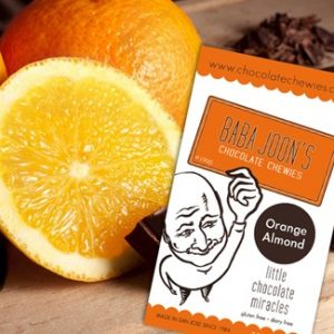 Baba Joon's Chocolate Chewies - Orange Almond
