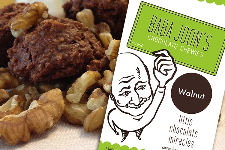 Baba Joon's Chocolate Chewies: Little Dairy-Free and Gluten-Free Chocolate Miracles - Walnut