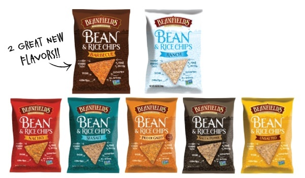 Beanfields Bean and Rice Chips - Amazing Dairy-Free Flavors (Nacho, Barbecue, Ranch, and More!)