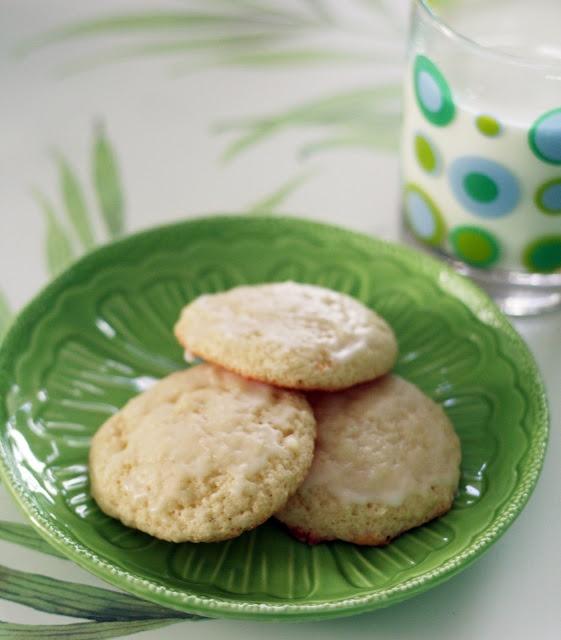 Coconut Lime Tea Cookies