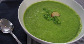 Creamy Green Pea Soup