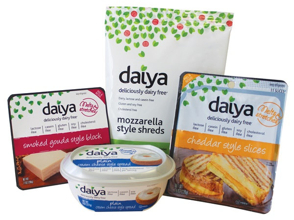 Win a Year Supply of Daiya Dairy Free