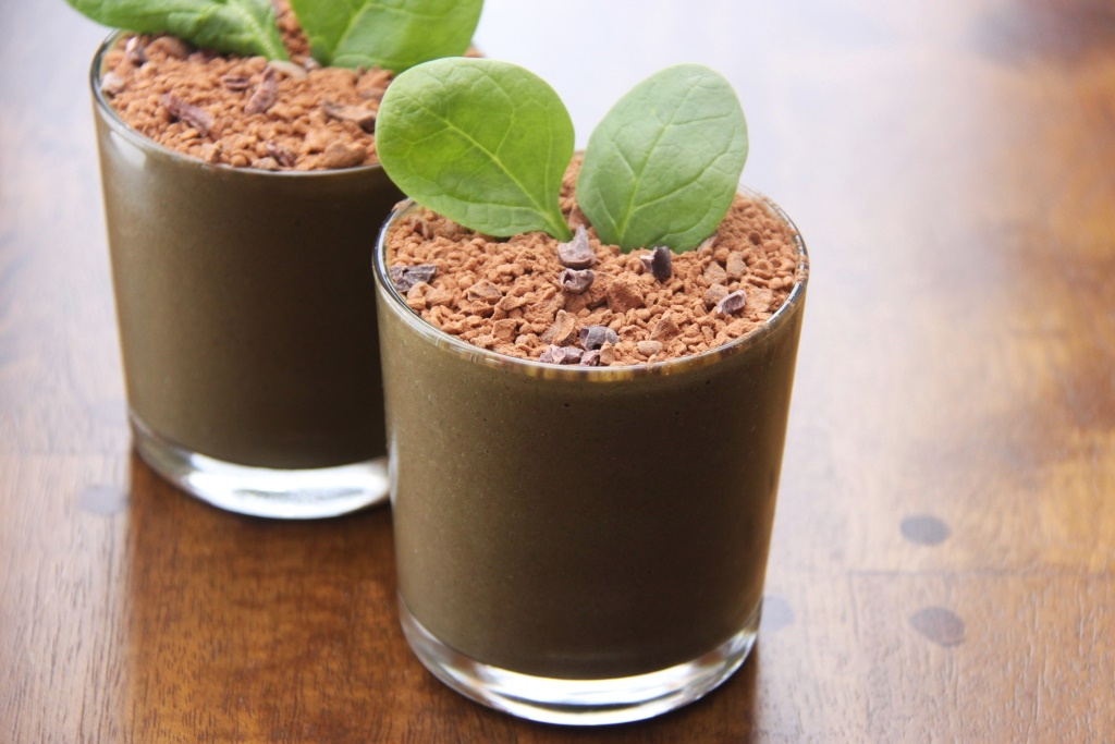 Eat Dirt Protein Shakes - superfood vegan smoothies with a fun presentation