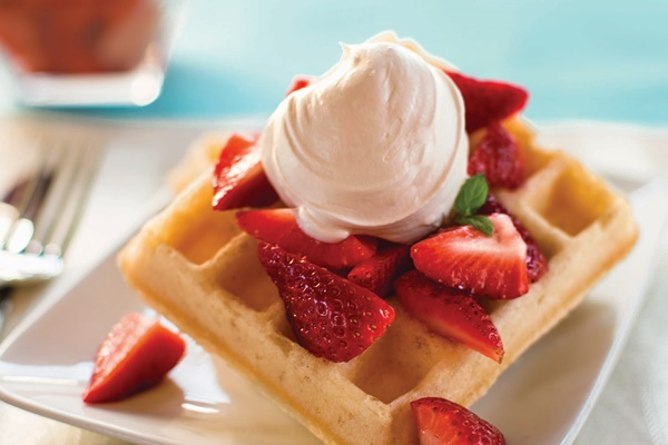 Food Allergy Awareness Week - Allergen-Free Strawberry Shortcake Waffles