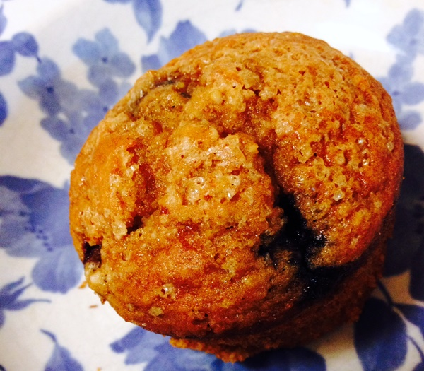 Gluten-Free Blueberry Muffins (dairy-free) - These healthy breakfast treats contain a hearty blend of cashew meal, sorghum flour, and coconut flour