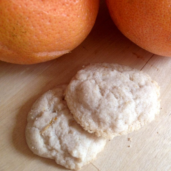 Grapefruit-Infused Gluten-Free Cookies - Just 5 ingredients! (vegan, dairy-free, gluten-free)