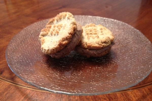 Dairy-Free Hazelnut Ice Cream Sandwiches with Grain-Free Hazelnut Cookies