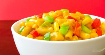 Dairy-Free Stovetop Mac and Cheese Recipe - an easy, plant-based, gluten-free, allergy-friendly dish made with Spicy Southwestern Flavor