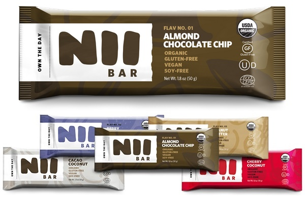 Nii Premium Organic Nutrition Bar Review Vegan Certified