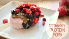 Chocolate-Covered Strawberry Protein Pops (Best Out of the Box Recipe!)