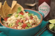 Tabasco and Lime Ceviche