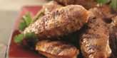 Tea-Grilled Chicken Wings with Hot Green Dipping Sauce