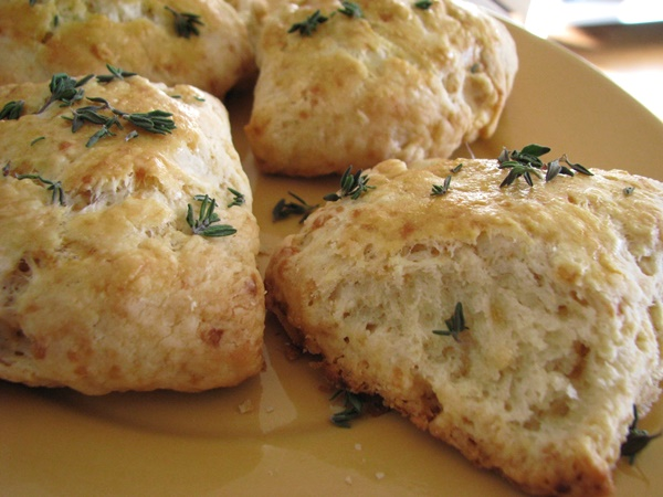 Thyme Country Style Biscuits Recipe Dairy Free