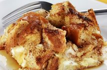 Cinnamon Raisin French Toast Casserole Recipe made Dairy-Free and Gluten-Free (also nut-free and soy-free)