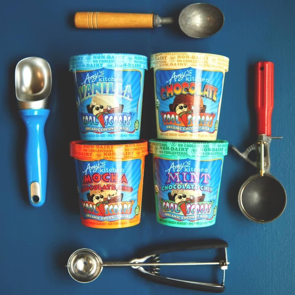 Amy's Ice Cream - Organic Non-Dairy Frozen Dessert made with Coconut Milk (Vegan, Dairy-Free)