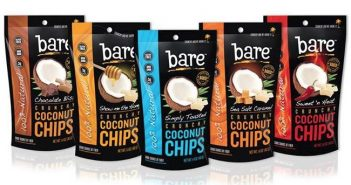 Bare Coconut Chips: Sweet Crunchy Dairy-Free + Gluten-Free Bliss