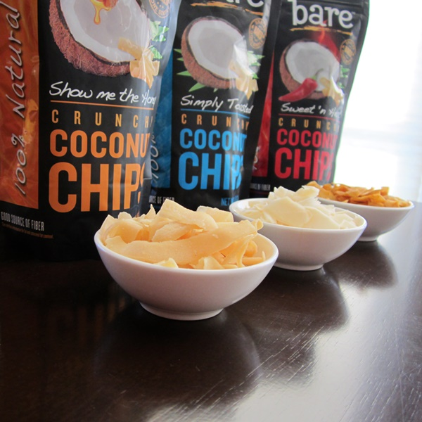 Bare Coconut Chips: Sweet Crunchy Dairy-Free + Gluten-Free Bliss (Simply Toasted, Show Me the Honey, Sweet 'n Heat)