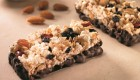 Chocolate-Dipped Popcorn Power Bars