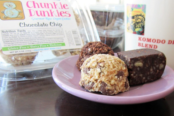 Chunkie Dunkies - Gourmet Raw Vegan Cookies (Chocolate Chip, Mint Chocolate Chip, Fudge Brownie)