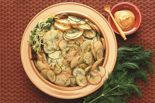 Cucumber and Dill Vinaigrette Potato Salad
