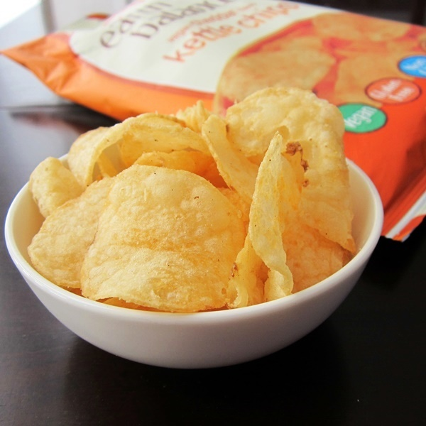 Earth Balance Kettle Chips - Vegan Cheddar