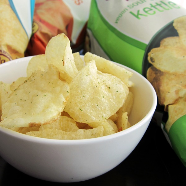 Earth Balance Kettle Chips - Vegan Sour Cream and Onion
